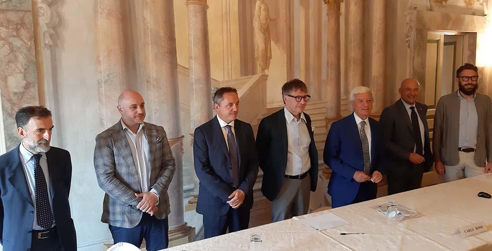 La firma dell'accordo avvenuta il 22 luglio